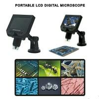 """Mikroskop Digital Layar LCD 4.3"""" (bisa foto + rekam video ke SD-card)"""
