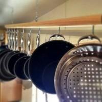 Jual gantungan dapur / cantolan dapur / gantungan panci / rak dapur gantung Murah