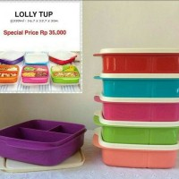 Jual Tupperware Lolly Tup ( Bekal / peralatan Makan) Murah