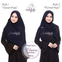 Jual Shawl - Nuhijab - Shawl Instant Elmira - Jilbab instan - Hijab Pesta Murah