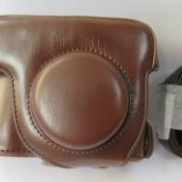 Leather Case Tas Kulit Canon Powershot G15 G16