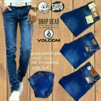 Jual Jeans Biru Skinny (SIZE 33-38) Murah