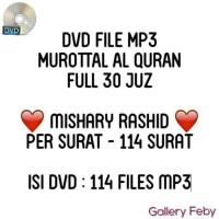 DVD MUROTTAL AL-QURAN MP3 MISHARY RASHID FULL 30 JUZ MUROTAL CD MURAH