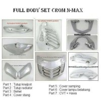 FULL BODY SET N-MAX CROM (7 PCS) GOOKEM