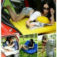 Jual Kasur Angin Mobil Kasur Portable Multifungsi Tempat Tidur Mobil +Pompa Murah