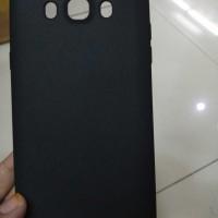 case Samsung j7 2016/j710 slim fit matte black softcase fullblack