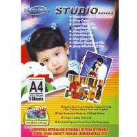 Mediatech Studio Series Paper Crystal Pearlite Film A4 adalah kertas p