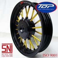 velg motor vario 110 Beat Scoopy Spacy TOP Andong black gold