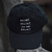 topi supply baseballcap premium bulshit black