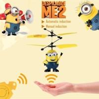 Flying heli sensor karakter (RC heli/ Drone mainan anak)