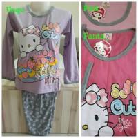 Jual Piyama Anak Little Pony/Baju Tidur Anak/Setelan Hello Kitty 8-10thn Murah