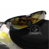 Jual Kacamata Sport Oakley Quantum 6 Lensa - Gowes Sepeda Motor Kerja Murah