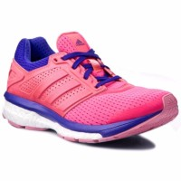 Sale Adidas - Supernova Glide Boost 7 W Pink Purple Womens R