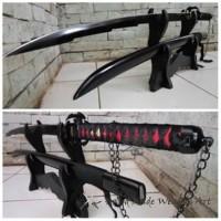 Pedang Samurai/Katana Ichigo Bankai Ultimate ART2099