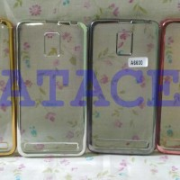Case List Chrome Lenovo A6600 A6600+ Plus /TPU/Softcase/Soft/Luxury