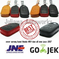 Jual Cover / Sarung Kunci Kulit Asli Honda HRV /all New Jazz Murah