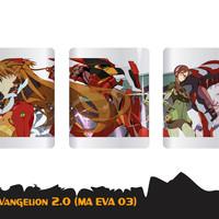 Gelas Anime Evangelion MA EVA 03 Bisa Custome