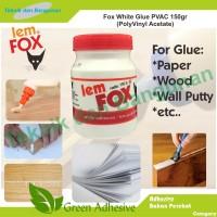 Harga lem putih fox pvac | antitipu.com