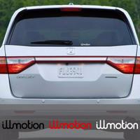 Promo New Stiker Mobil JDM illmotion 20cm Cutting Sticker Kaca Body