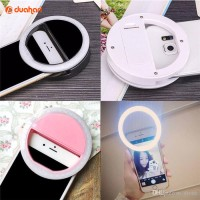 Jual LED Selfie Light Round / Lampu Selfie / Selfie Ring Light / Selfi Lamp Murah