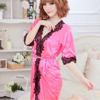 Jual Lingerie Sexy Kimono Yurika Semi Transparan Fashion Murah  Murah