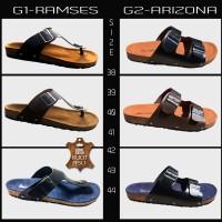 Jual Yamanori - Sandal Kulit - Sandal Pria - Sandal Jepit - birkenstock Murah