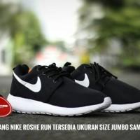 Jual Sepatu Running Nike Roshe Run Hitam Putih Murah