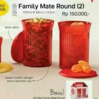 Jual Family Mate Round Tupperware Murah