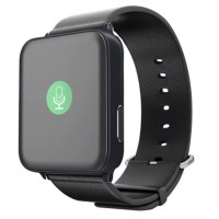 Onix Wime A9 Smartwatch Hitam 42mm For Apple Watch Strap Leather Hitam