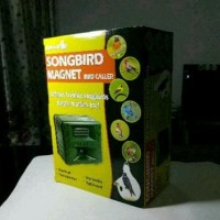 Songbird Magnet Bird Caller Mesin Nyanyian Burung Mudah Diset B26 9471