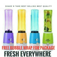 Jual Shake and Take Shake n take 3 New Edition juicer 2 cup + bublewrap Murah