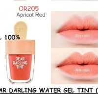 Jual ETUDE DEAR DARLING GEL TINT -ICE CREAM- OR205 APRICOT RED Murah
