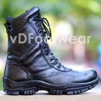 Sepatu PDL Pria Safety Boots Kulit Asli PDH TNI POLRI DELTA FORCE