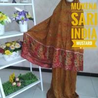 MUKENA SARI INDIA MUSTARD