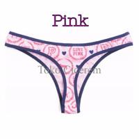 SPECIAL Pink Victoria's Secret VS Gstring Thong Lingerie Bra BH Sport