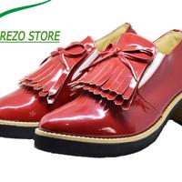 Jual sepatu wanita oxford Grindheels Tassel branded original Murah