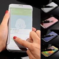Samsung Galaxy J2 Prime Flipmirror Flip Smart View Casing Sarung Hp
