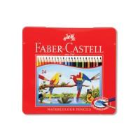 Faber-Castell Watercolor Pencils 24L Tin Case