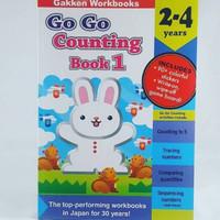 Gakken Workbooks Go Go Counting Book 1 2-4 years