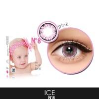 Harga softlens korea softlense x2 ice n8 pink big eyes 16mm bisa | antitipu.com