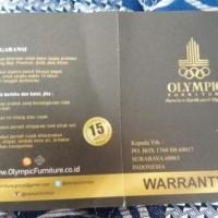 baru     Kasur spring Bed OLYMPIC Tebal 32 cm .160 x 200.     termurah