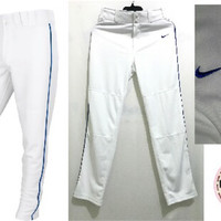 Promo Baju Murah Celana Nike White Strip Blue Swingman Pants Ori pre
