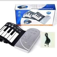 Piano Portable Digital Roll Up Soft Keyboard 49 Keys