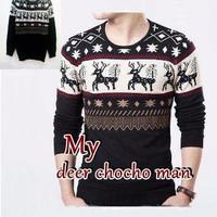 Baju Rajut Pria / Sweater Pria - DEER COCO MAN