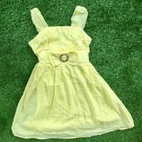 Speeckless yellow dress