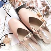 Gem Embellished Flat Shoes / Flatshoes Charles & Keith