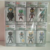 WCF Banpresto Kamen Rider Vol.9 Set 8PCS NEW MIB