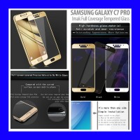 Samsung Galaxy C7 Pro - Imak Full Coverage Tempered Glass Antigores