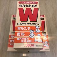 STRONG WAKAMOTO 1000 Tablet ORIGINAL JEPANG 100% READY STOCK