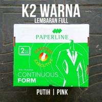 Harga paperline kertas continuous form hvs 2 ply 9 5 x 11 k2   Pembandingharga.com